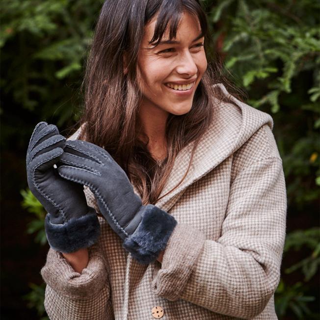 Apollo Bay Gloves, DARK GREY, hi-res