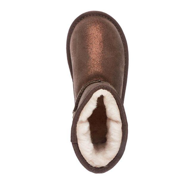 Wallaby Mini Metallic, CHOCOLATE, hi-res