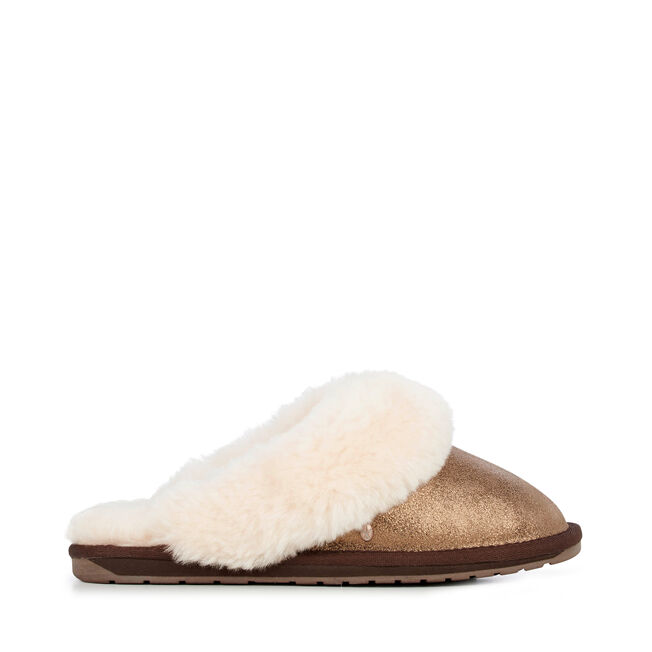 d94615717 Jolie Metallic Womens Liner Skin Slipper- EMU Australia