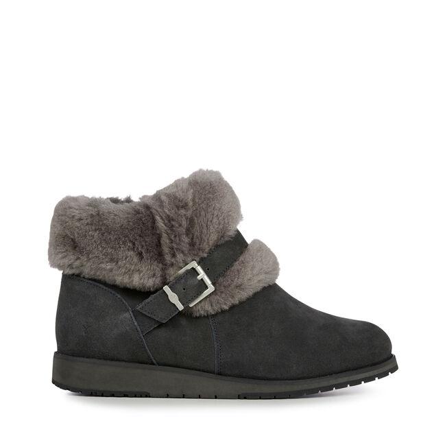 Oxley Fur Cuff, DARK GREY/BLACK, hi-res