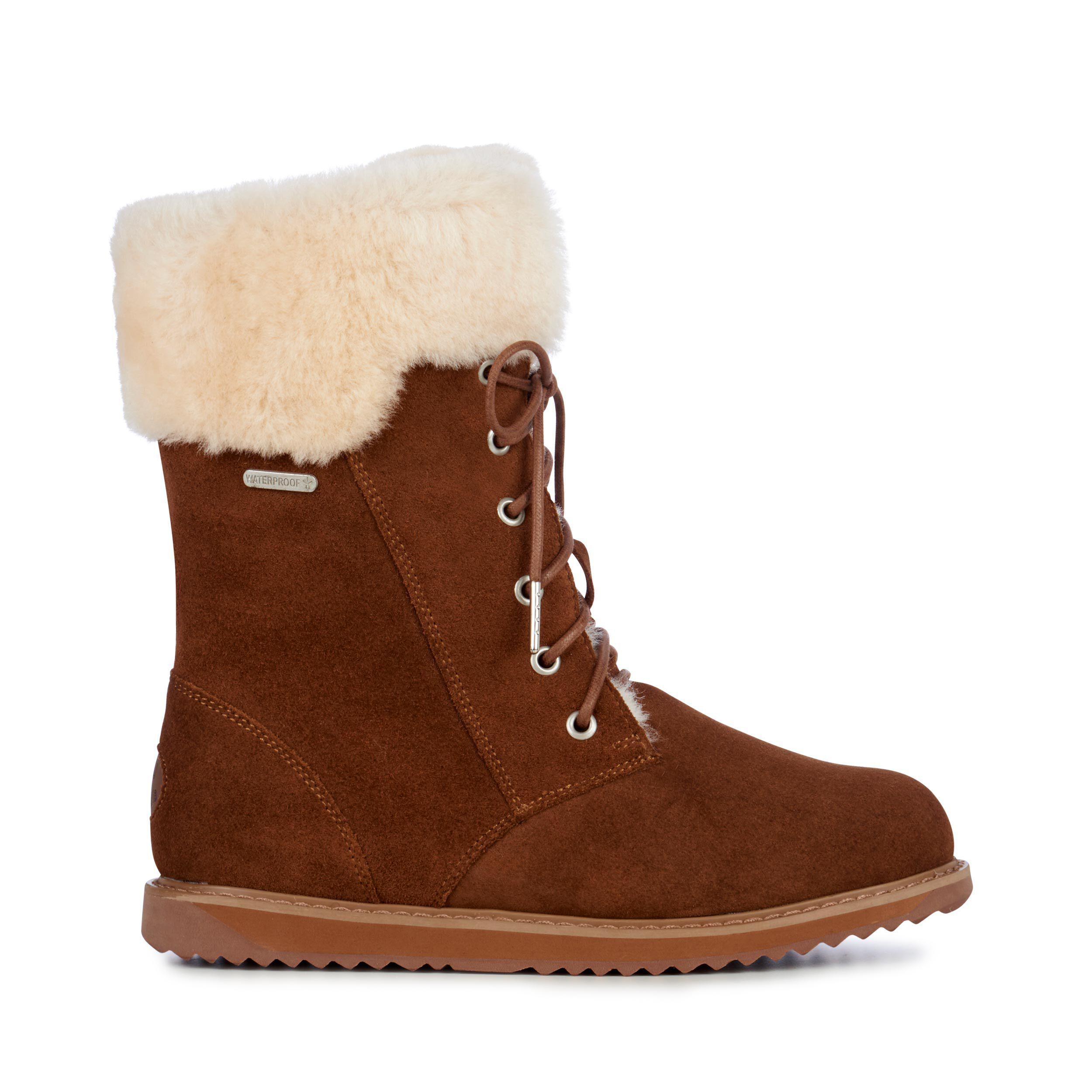 Shoreline Womens Liner Skin Boot- EMU