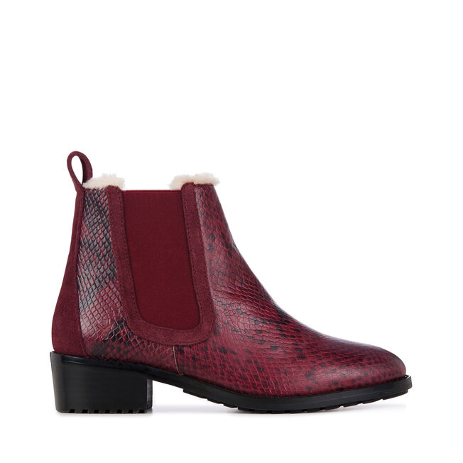 Ellin Snakeskin, RED WINE, hi-res