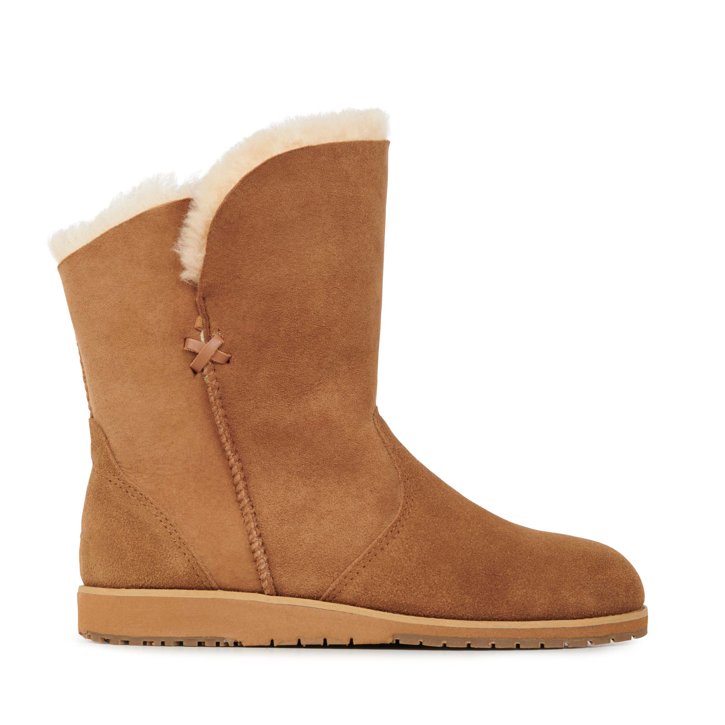 LADIES UGG BEIGE ankle boots £15.00 | PicClick UK